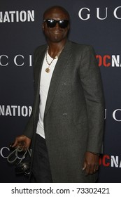 WEST HOLLYWOOD - FEB 12:  Seal arriving at the Gucci and RocNation Pre-GRAMMY Brunch held in West Hollywood, California on February 12, 2011.
