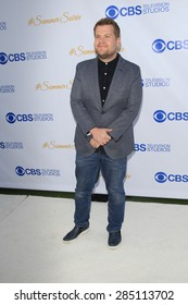 WEST HOLLYWOOD - MAY 18: James Corden at the CBS Television Studios 3rd Annual Summer Soiree Party held at The London Hotel on May 18, 2015 in West Hollywood, California