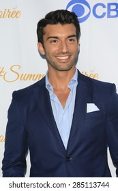 WEST HOLLYWOOD - MAY 18: Justin Baldoni at the CBS Television Studios 3rd Annual Summer Soiree Party held at The London Hotel on May 18, 2015 in West Hollywood, California