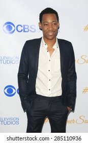 WEST HOLLYWOOD - MAY 18: Tyler James Williams at the CBS Television Studios 3rd Annual Summer Soiree Party held at The London Hotel on May 18, 2015 in West Hollywood, California
