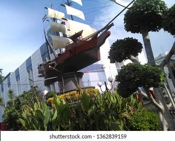 West Jakarta, Indonesia - April 24th, 2016 : Memorial Monument of VOC