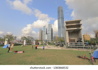 West kowloon Waterfront Promenade 22 April 2019