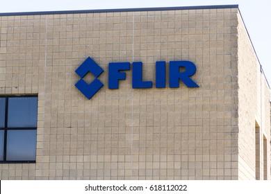 West Lafayette - Circa April 2017: FLIR Detection location. FLIR Detection, Inc. designs, manufactures, and markets sensor systems I