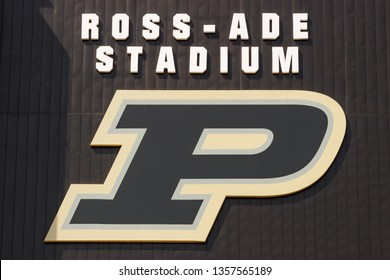 West Lafayette - Circa April 2019: Ross-Ade stadium at Purdue University. A member of the Big Ten, Purdue hosts teams from the midwest I