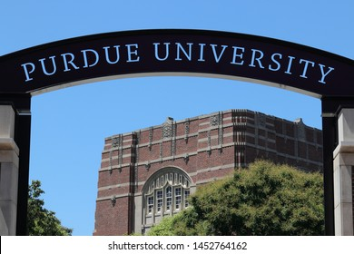 West Lafayette - Circa July 2019: Purdue Welcome Center at Purdue University I