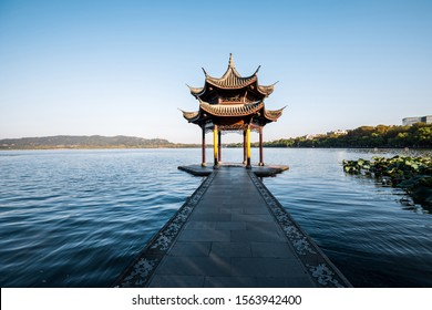 West Lake Landscape, Hangzhou, China