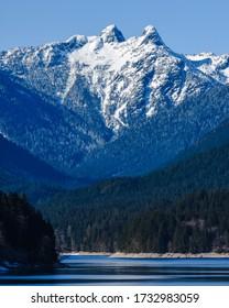 West lion peak, Cleveland dam Vancouver