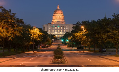 West Main Street leads right to the Capital in Jefferson City