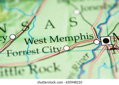 Memphis Tennessee Map Stock Photos Images Photography Shutterstock
