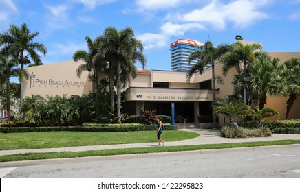 WEST PALM BEACH, FL, USA - APRIL:  Student Center at Palm Beach Atlantic University, a private coed Christian university with an enrollment of approximately 3000 students as seen on April 13, 2019.
