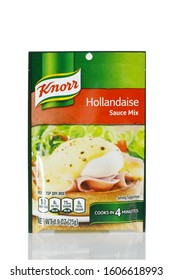 WEST PALM BEACH,  FLORIDA - January 5, 2020: Illustrative editorial image of a packet of Knorr is a German food and beverage brand. It is owned by Unilever