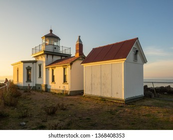 West Point Light is an active aid to navigation on Seattle, Washington's West Point, which juts into Puget Sound and marks the northern extent of Elliott Bay.