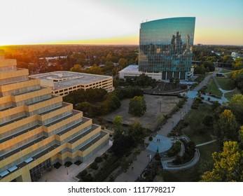 West Sacramento The Ziggurat  building