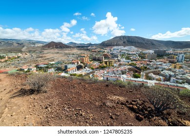 West side of Los Cristianos city