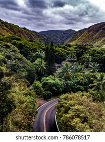 West side of Maui Road shot with a Drone