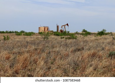 West Texas oil production