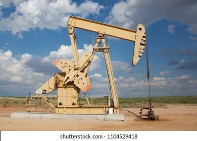 West Texas pumping unit