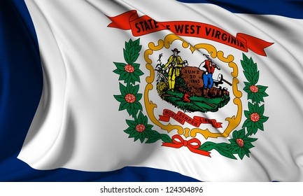 West Virginia flag - USA state flags collection no_3