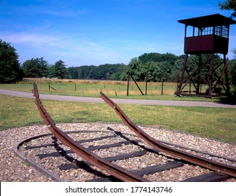 The Westerbork transit camp (Dutch: Kamp Westerbork, German: Durchgangslager Westerbork) was to assemble Roma and Dutch Jews for transport to other Nazi concentration camps.