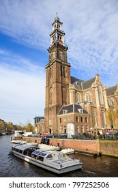 Westerkerk, the church where Rembrandt is buried - Amsterdam, Netherlands