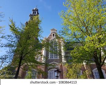 Westerkerk in Spring Amsterdam