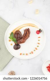 Western abalone, goose, set