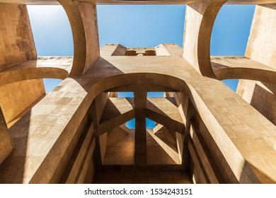 Western Asia. Eurasia. South Caucasus. Republic of Armenia. Yerevan. August 16, 2018. Saint Gregory the Illuminator Cathedral.