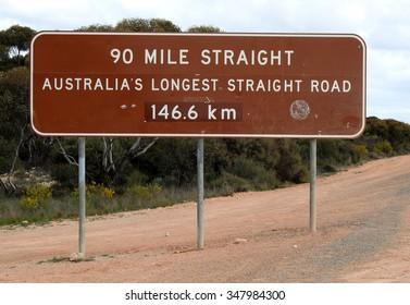 Western Australian road sign.