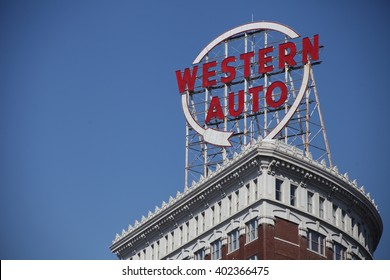 Western Auto Sign