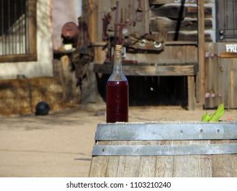 Western Bottle of Liquor