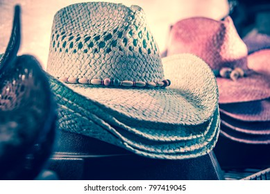 ad70728db224ea stack of cowboy hats