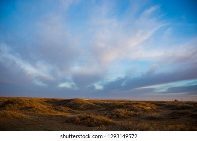 Western grassland in Inner Mongolia, China