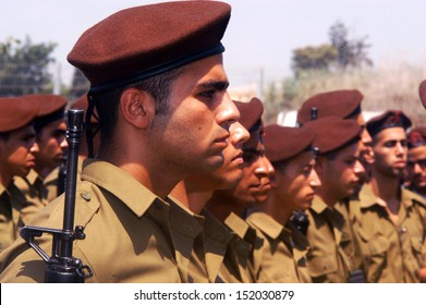 WESTERN NEGEV, ISRAEL - JULY 7: Israeli soldiers on July 7 2006. IDF is one of Israeli society's most prominent institutions, influencing the country's economy, culture and political scene.