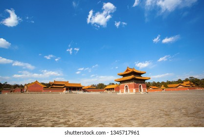 Western Qing Mausoleums –Lookout Tai Mausoleum(Yong zheng). The Wastern Qing Mausoleums is one of the last dynasty Mausoleum area in China. It is located in Yixian, Hebei, China.