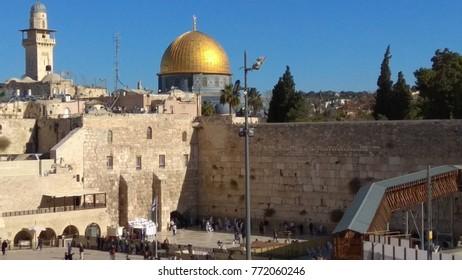 western wall of Jerusalem