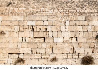 The Western Wall, Wailing Wall, or Kotel,[known in Islam as the Buraq Wall,is an ancient limestone wall in the Old City of Jerusalem