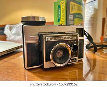 Westfield, NJ 12/14/19: Instamatic X-45 Old Fashion Kodak Film Camera