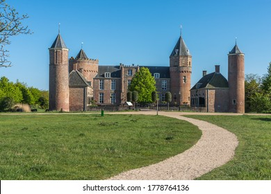 Westhove castle, located between Domburg and Oostkapelle, Province of Zeeland, The Netherlands