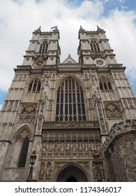 Westminster Abbey anglican church in London, UK