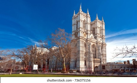 Westminster Abbey, Collegiate Church of Saint Peter at Westminster, City of Westminster, London, England, UK.