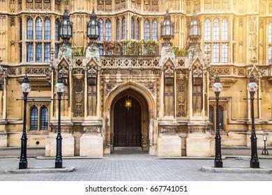 Westminster Abbey Doorway, London