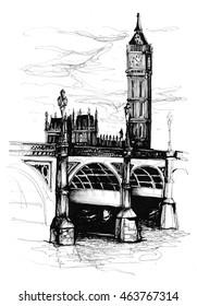 Westminster Bridge sketch