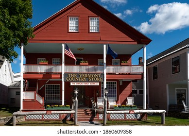 Weston, Vermont, USA. September 18, 2020. The Vermont Country Store, in Weston VT.