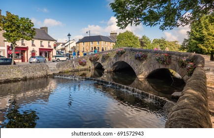 Westport bridge in county Mayo, Ireland