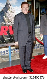 WESTWOOD, CA - APRIL 23, 2006: Robin Williams at the Los Angeles premiere of 'RV' held at the Mann Village Theatre in Westwood, USA on April 23, 2006.