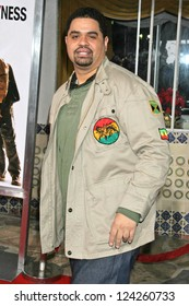 """WESTWOOD, CA - DECEMBER 07: Heavy D at the premiere of """"The Pursuit of Happyness"""" in Mann Village Theater December 07, 2006 in Westwood, CA."""