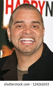 "WESTWOOD, CA - DECEMBER 07: Sinbad at the premiere of ""The Pursuit of Happyness"" in Mann Village Theater December 07, 2006 in Westwood, CA."