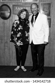 """Westwood, CA - June 20, 2019: Judy Spera (L) and Tony Spera attend the Premiere Of Warner Bros' """"Annabelle Comes Home"""" held at Regency Village Theatre"""