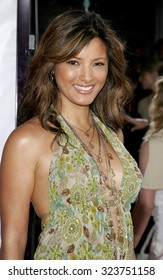WESTWOOD, CALIFORNIA. July 20, 2006. Kelly Hu at the World premiere of 'Miami Vice' held at the Mann's Village Theater in Westwood, California United States.