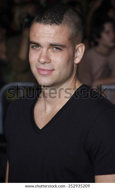 "WESTWOOD, CALIFORNIA - November 16, 2009. Mark Salling at the Los Angeles premiere of ""The Twilight Saga: New Moon"" held at the Mann Village Theater, Westwood, Los Angeles."